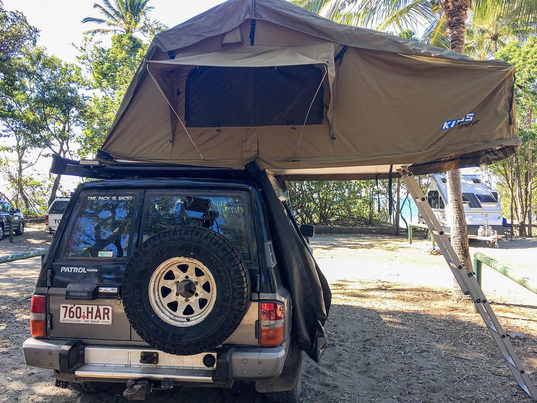 4x4 en australie avec roof top tent