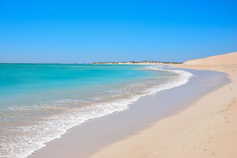 plage exmouth cote ouest de l'australie