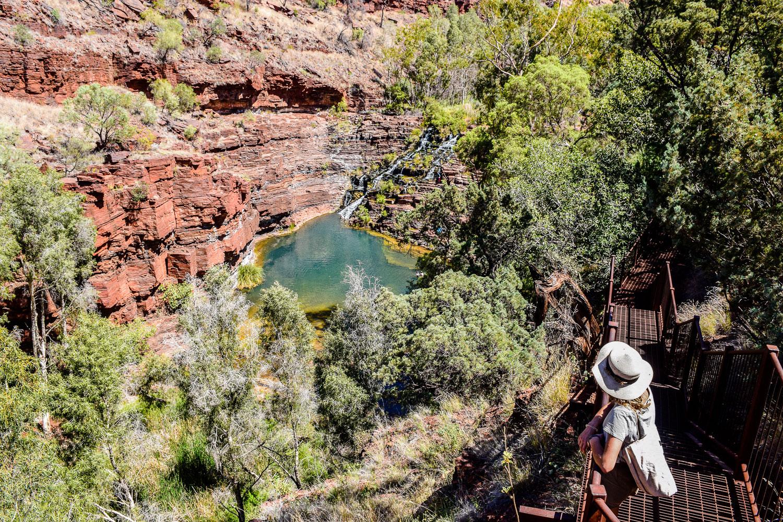 Canyon Karijini parc national côte ouest de l'Australie