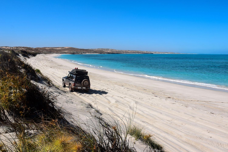 Coral Bay sur la côte ouest de l'Australie