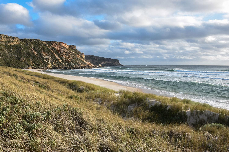côte ouest de l'Australie, plage au sud de Pemberton