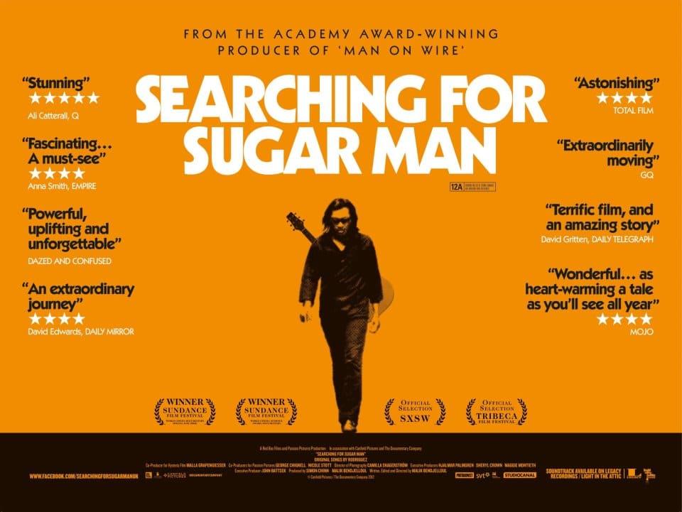 film sur le voyage et la musique : searching for sugar man