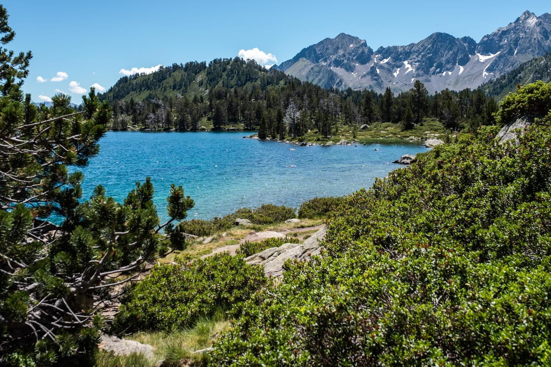 lac d'Aumar proche du lac d'Aubert dans la réserve naturelle du Néouvielle