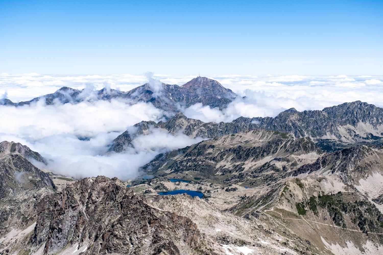 Vue depuis le sommet du Néouvielle