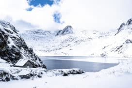 Lac bleu de Lesponne