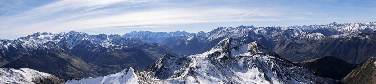 Panorama des Pyrénées