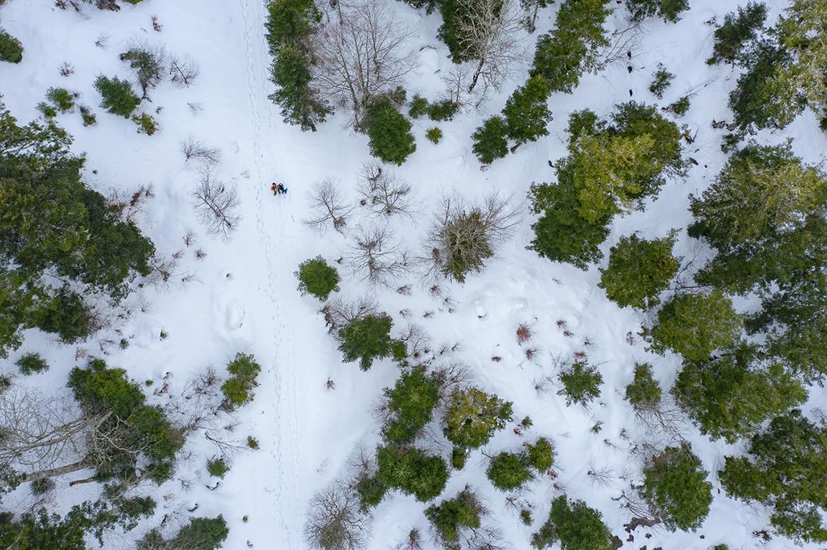 Randonnée en raquettes dans le Val d'Azun
