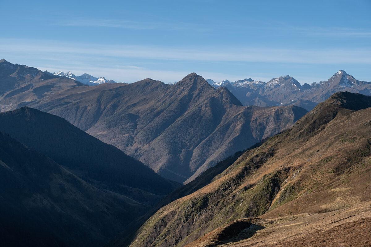 Randonnée à Hautacam en direction du lac d'Ourrec