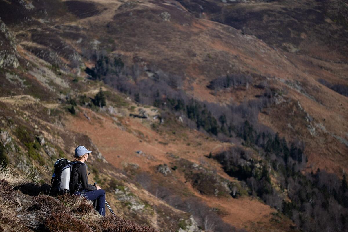 Observer les pyrénées en randonnée pour le lac d'Ourrec