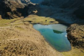 Randonnée au lac d'Ourrec