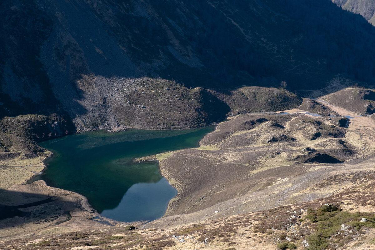 lac d'isaby Hautacam en direction du lac d'Ourrec