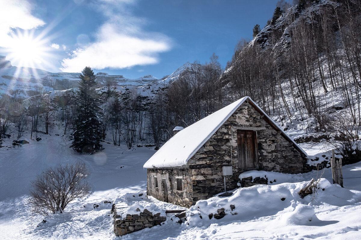 Cirque de Gavarnie en hiver