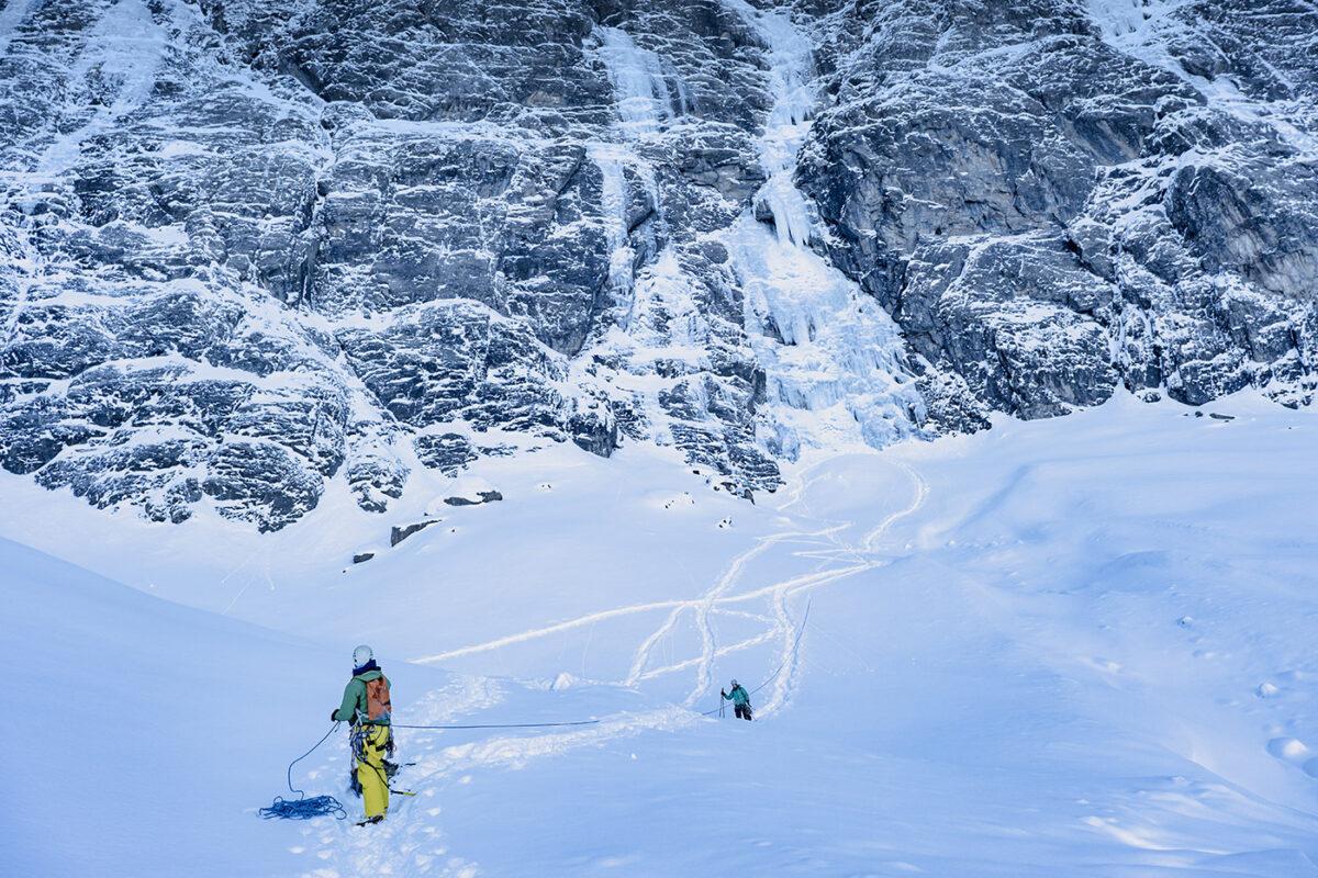 Cascade de glace au cirque de Gavarnie en hiver : blog de randonnée