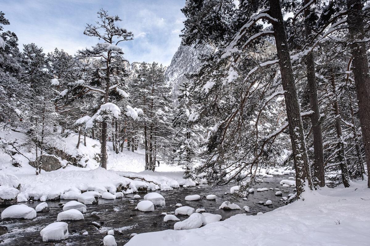 Vallée du Marcadau près de Cauterets dans les Hautes-Pyrénées