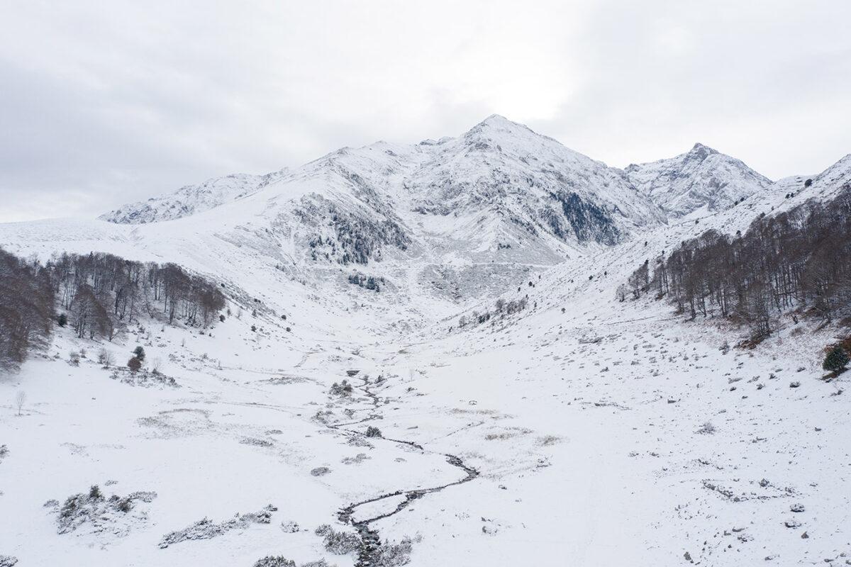 Randonnée depuis lac de Payolle vers la hourquette d'Ancizan