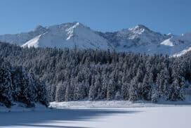 Lac de Payolle : randonnée au Canada français