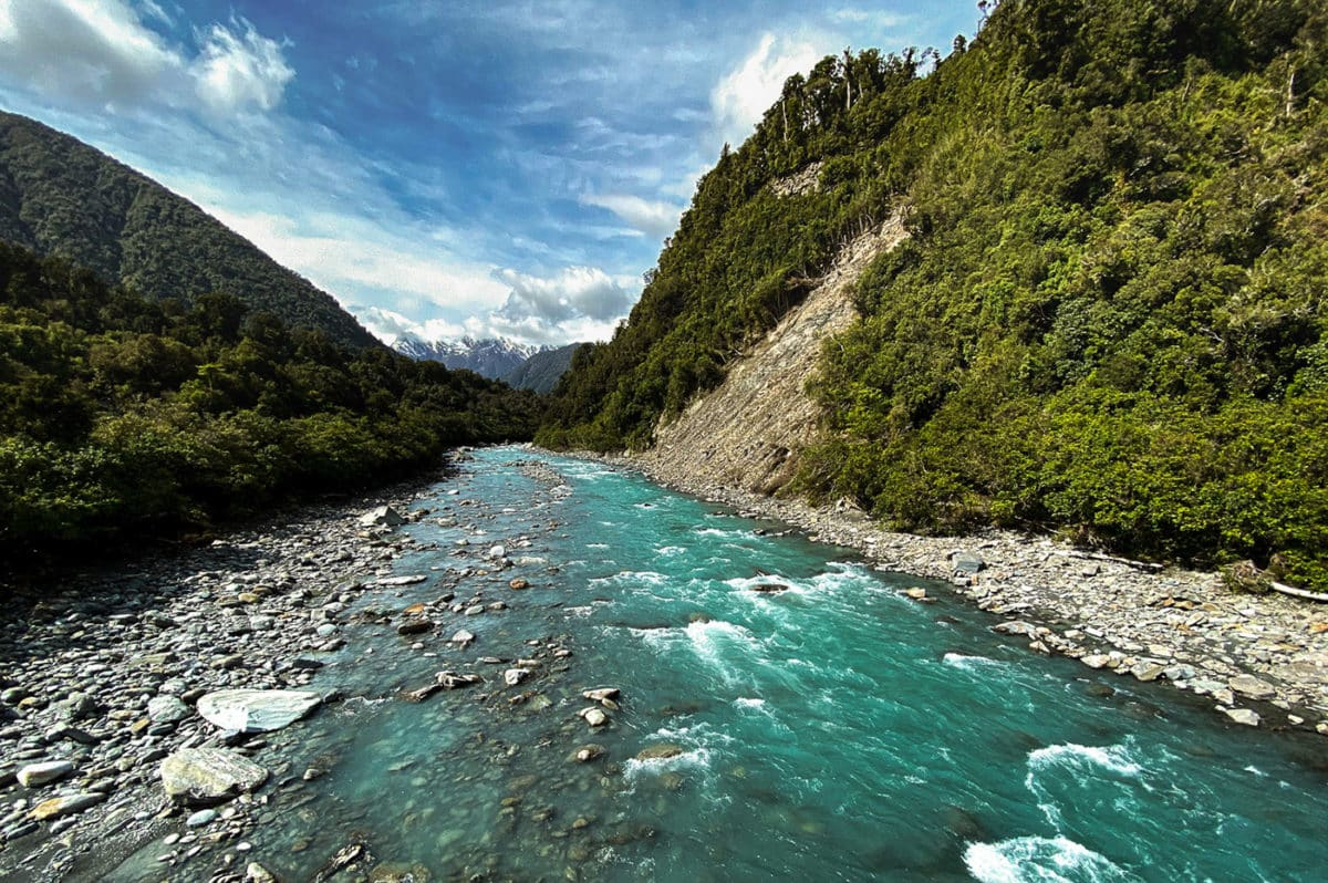 Rivière de Nouvelle-Zélande blog de voyage