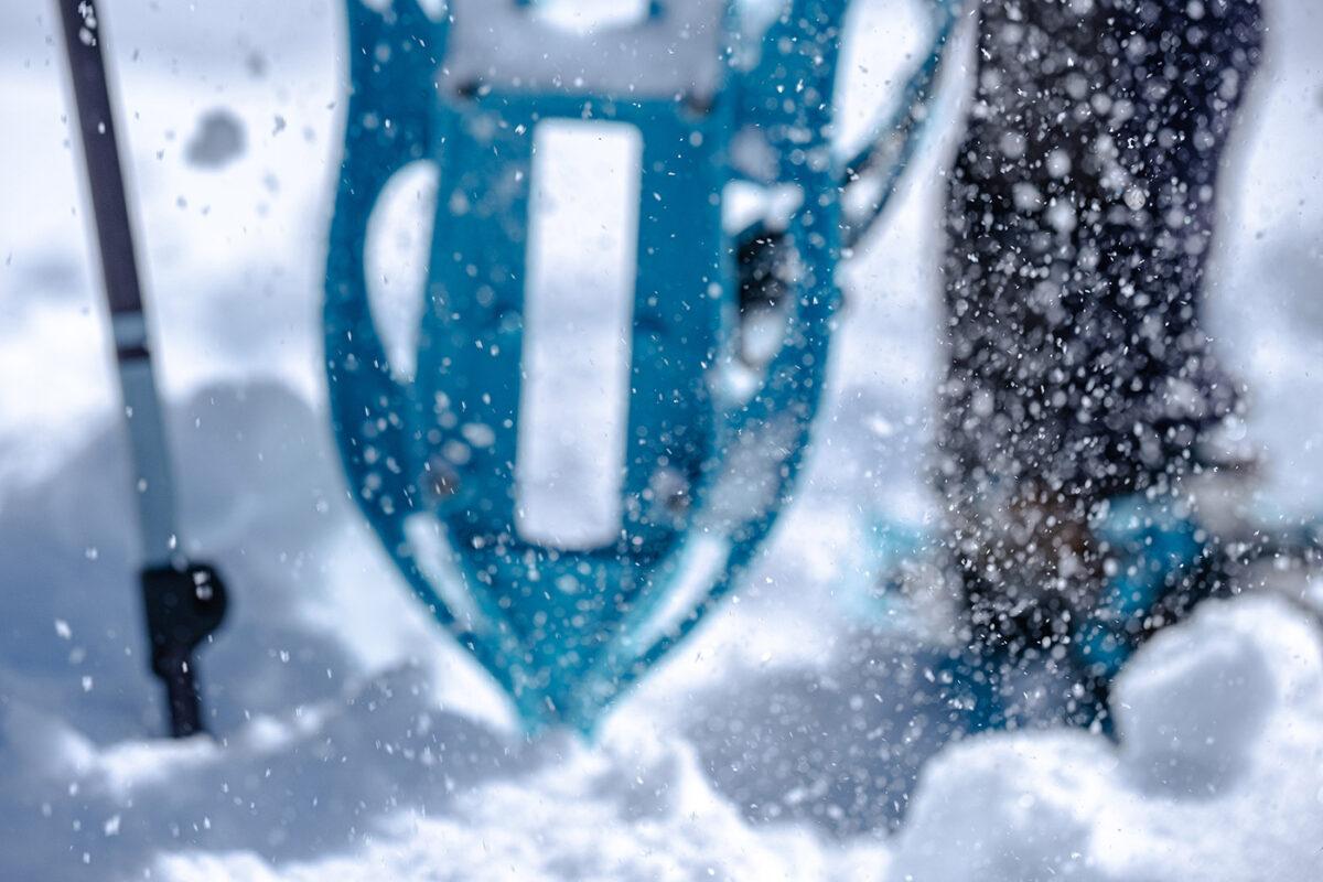 Présentation des raquettes à neige