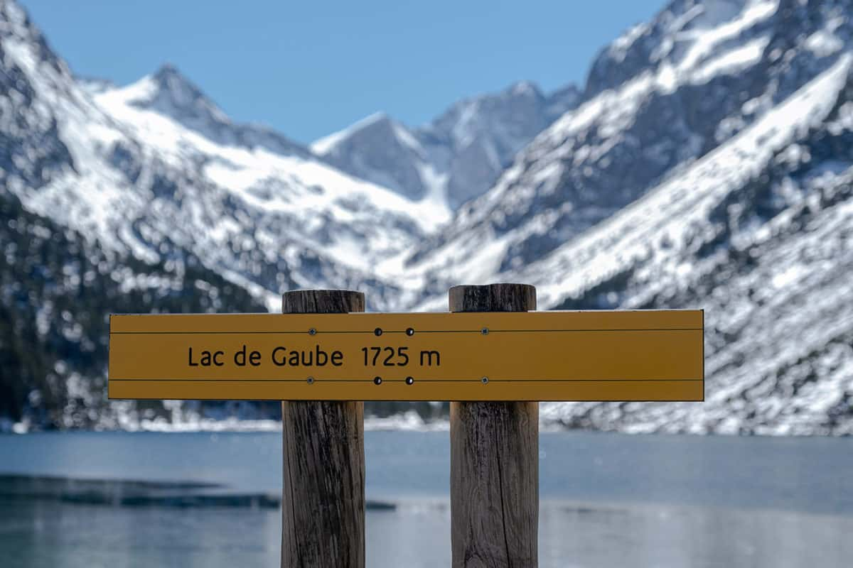 Lac de Gaube Pyrénées
