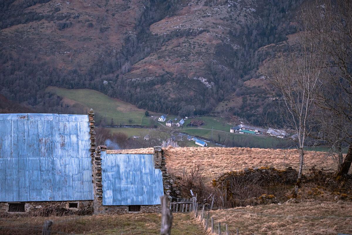 Maison pyrénéenne en vallée de Campan