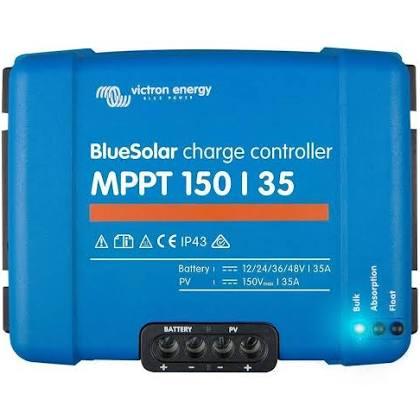 Régulateur de charge pour panneaux solaires MPPT 150-35