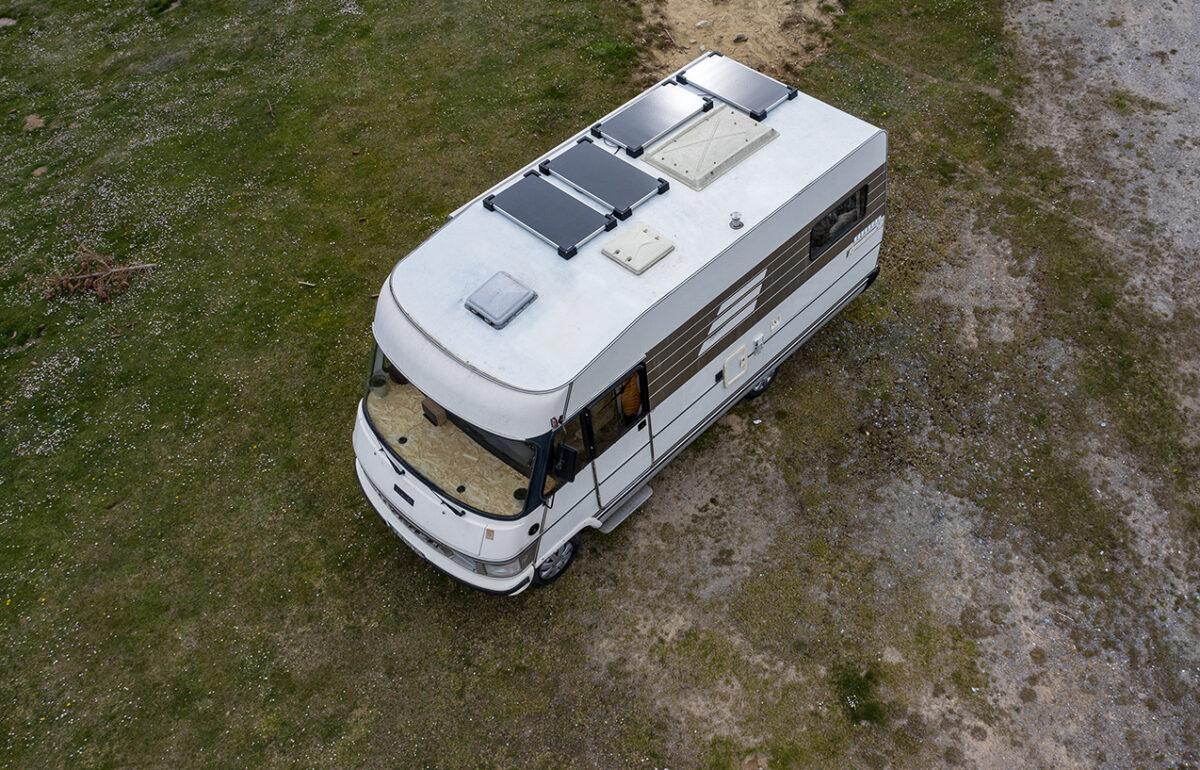 Panneaux solaires camping car back-contact