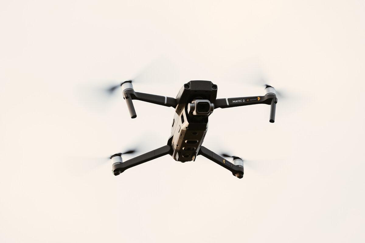 Drone photo en montagne