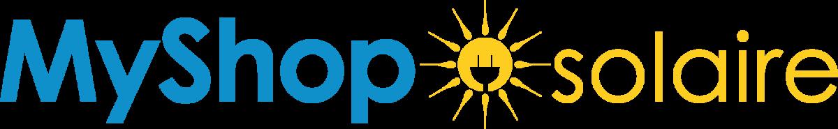 Logo MyShopSolaire boutique pour acheter panneaux solaires camping-car