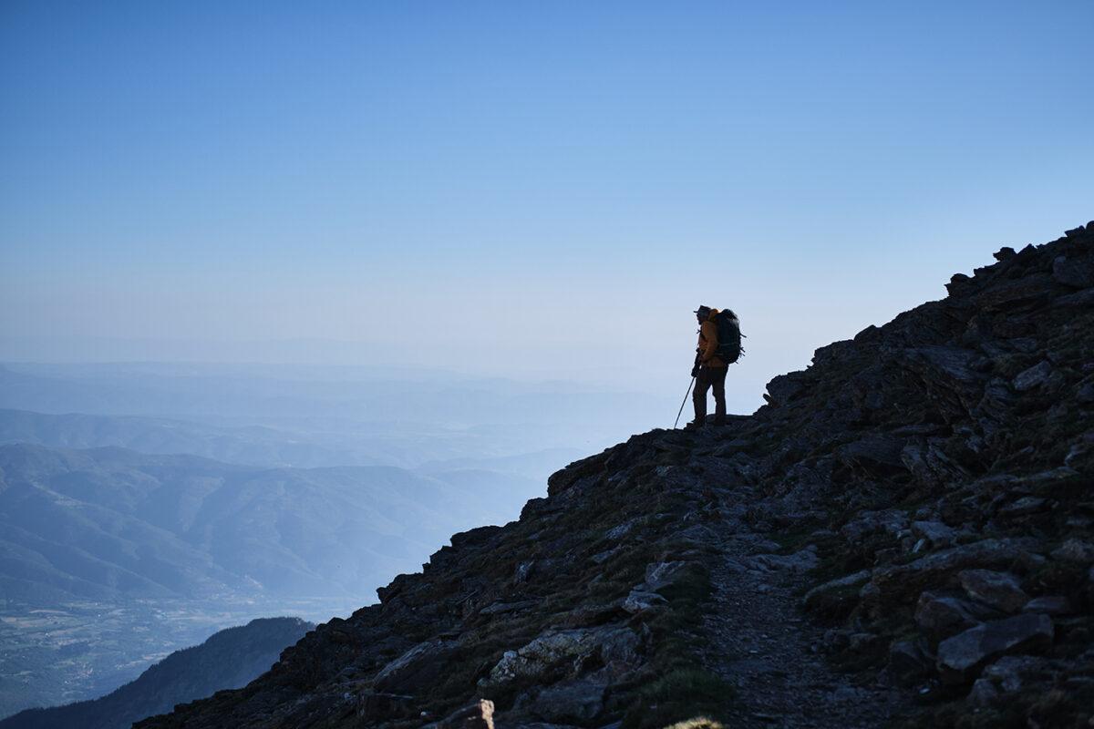 Sur les crêtess des Pyrénées Orientales