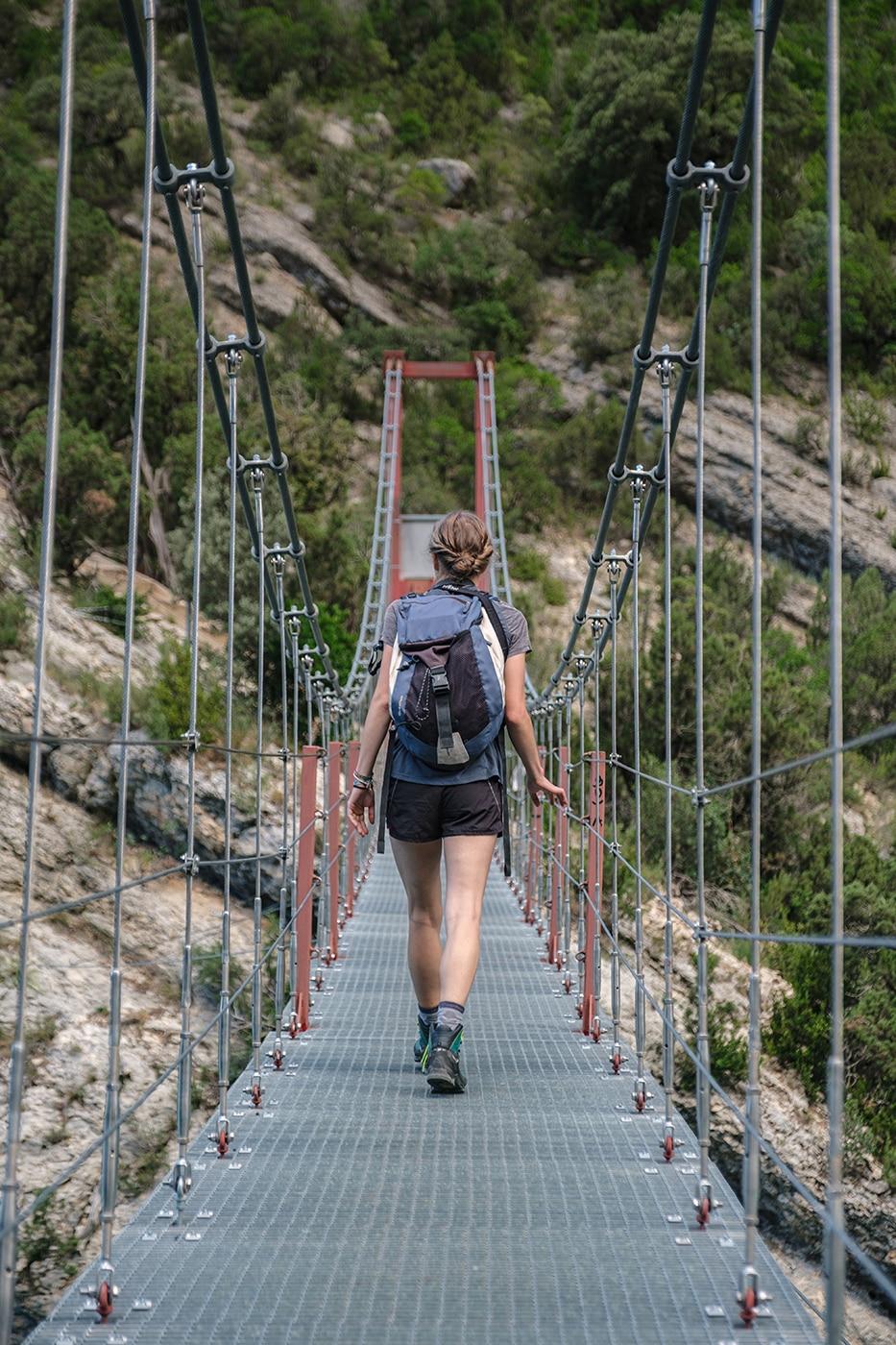 Pont du Congost de Mont Rebei blog de voyage et de randonnée