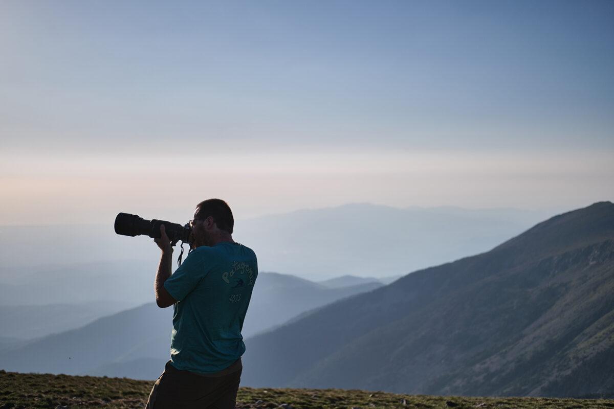 Photographe de montagne