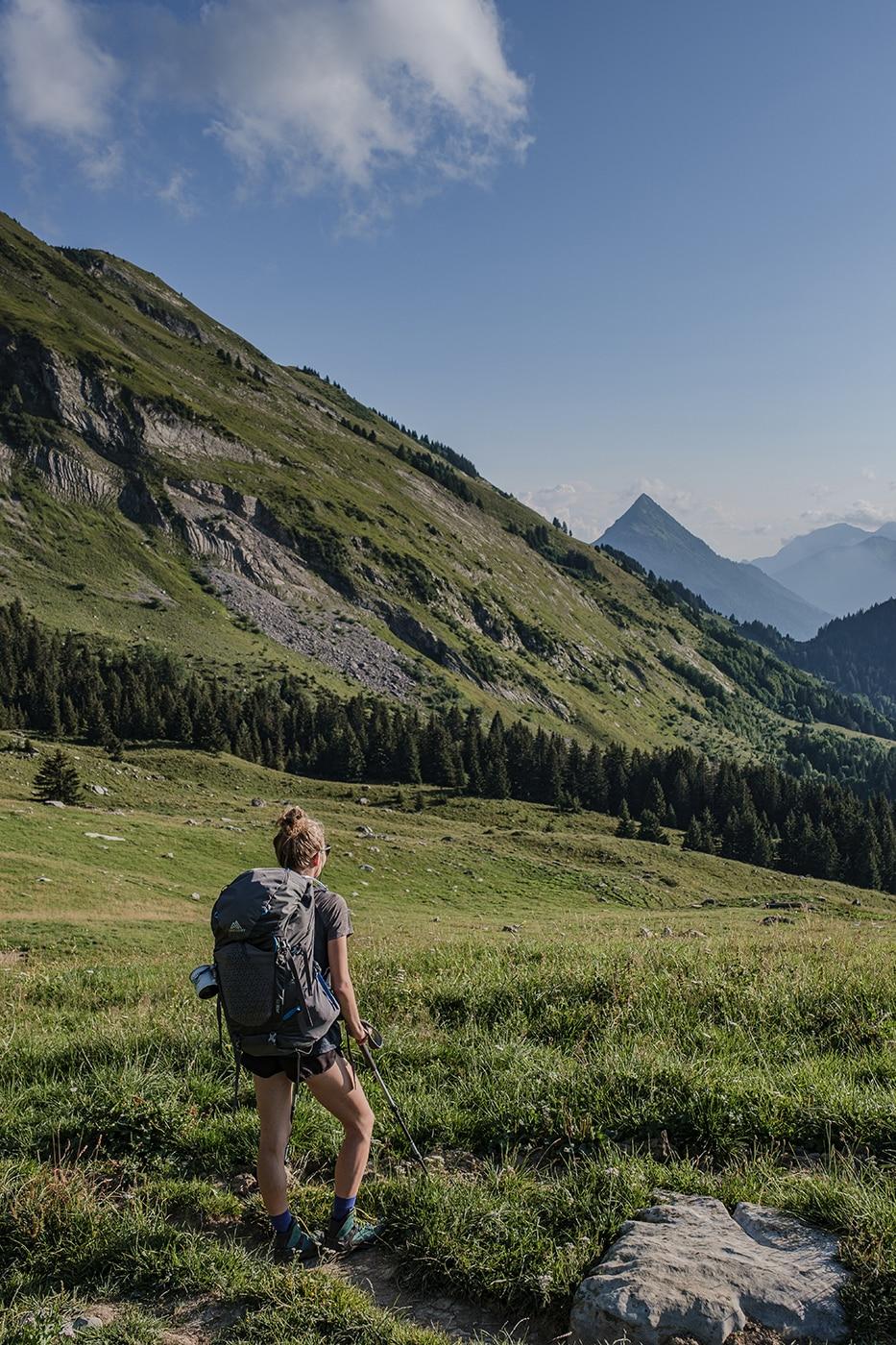 Direction le Mont Charvin