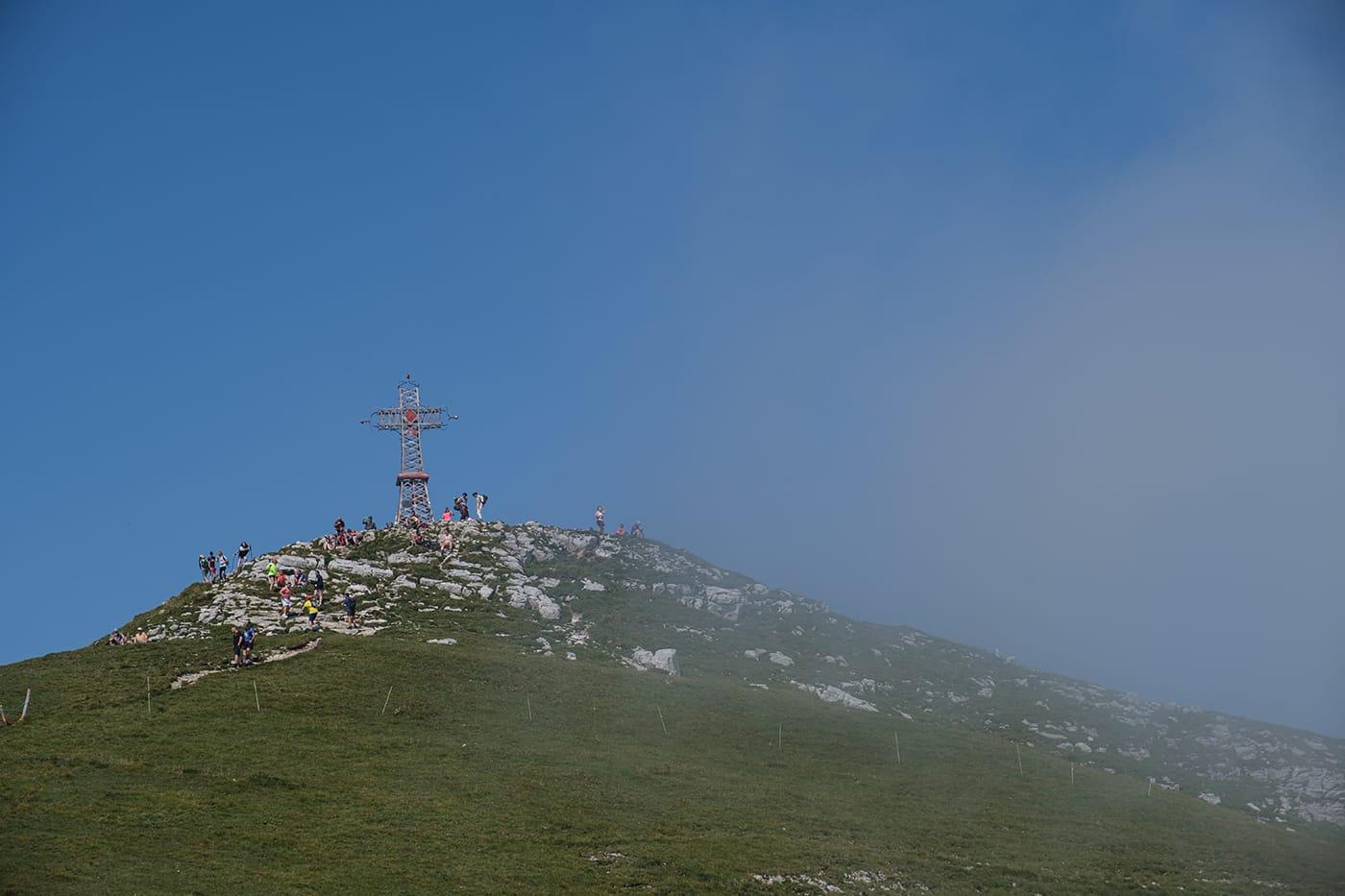 Croix sommet du reculet Jura