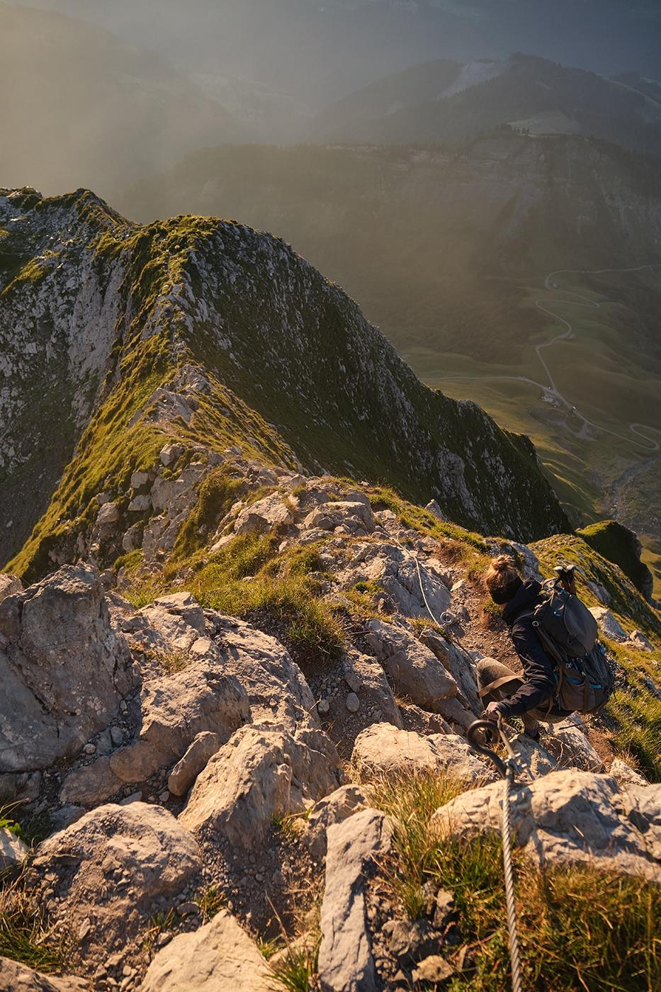 descente du Mont Charvin