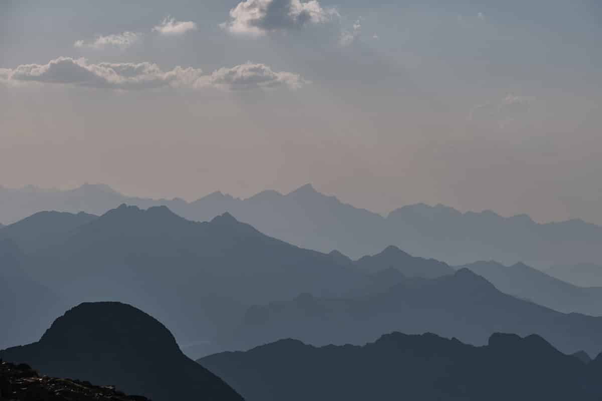 Sommet du pic du Montcalm, randonnée en haute montagne en Ariège