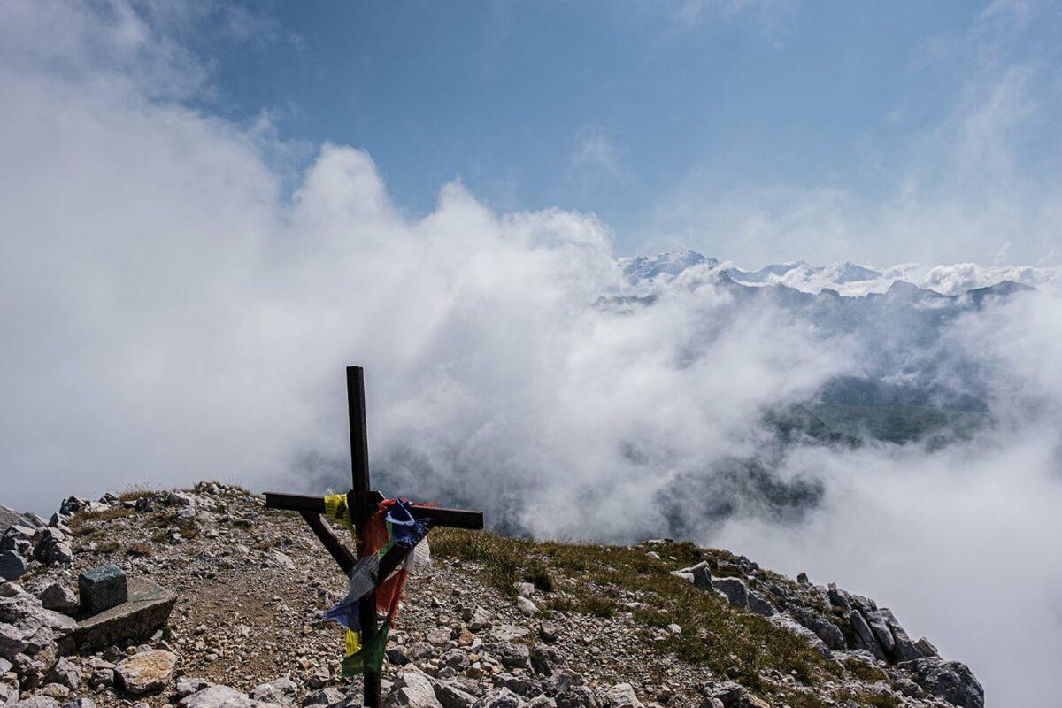 La Pointe Blanche, plus haut sommet des Bornes