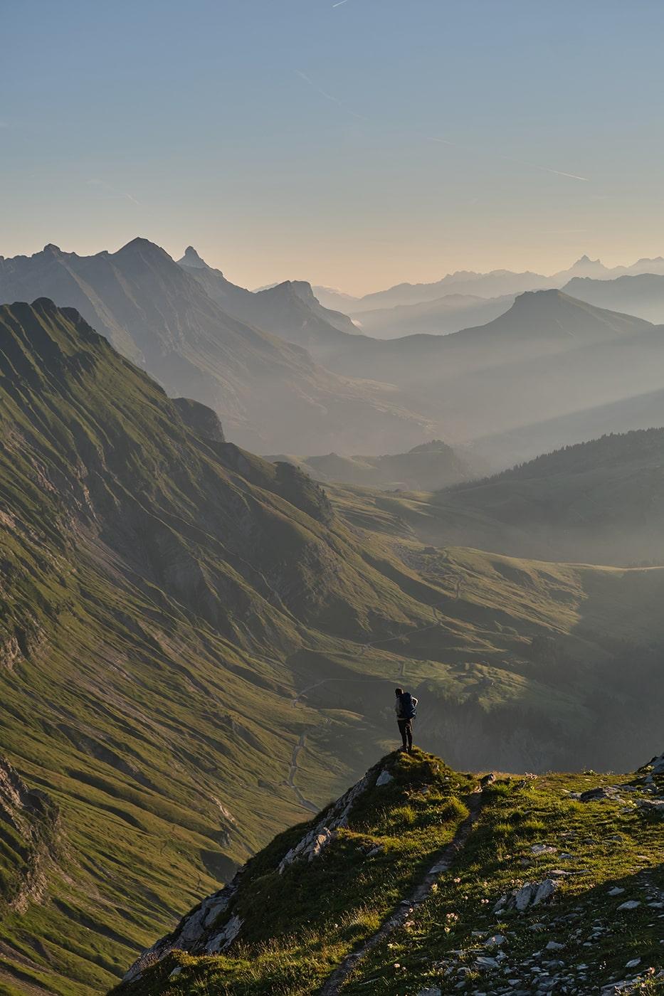 Randonnée au Mont Charvin dans les Aravis