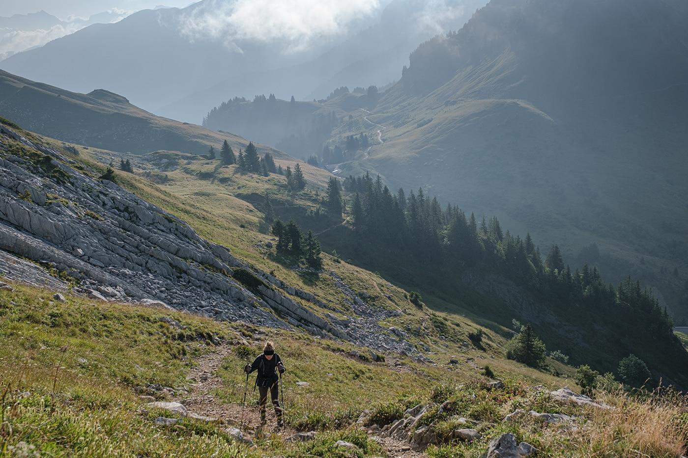 Randonnée lac de Peyre col du rasoir
