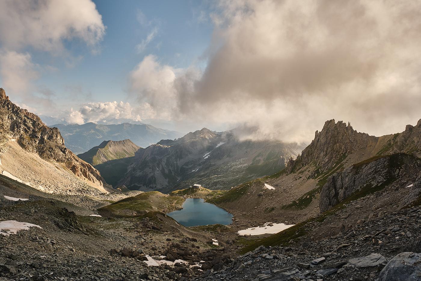 Randonnée lac et refuge de Presset, Pierra Menta et lac d'Amour