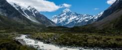 Hooker Valley Mont Cook, voyage Nouvelle Zélande voyager sans avion