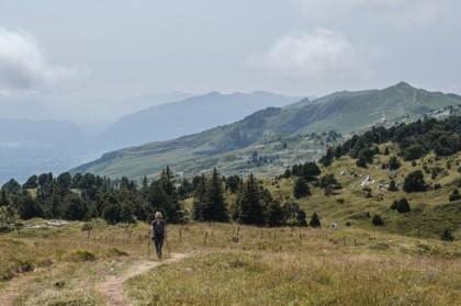 Randonnée au Crêt de la Neige réserve naturelle haute chaine du Jura