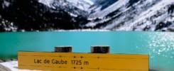 Le lac de Gaube 1725m d'altitude près de Cauterets dans les Hautes Pyrénées