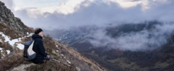 Randonnée au lac d'Aygue Rouye en vallée de Campan