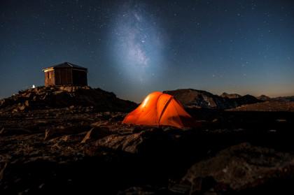 Test de la tente Vaude Hogan UL 2P pour randonnée bivouac