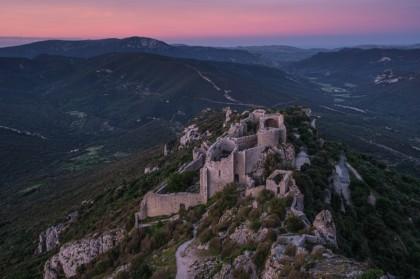 Visite du château de Peyrepertuse site cathare